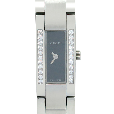 Gucci(구찌) 4600L 베젤 다이아 22포인트 스틸 여성용 시계