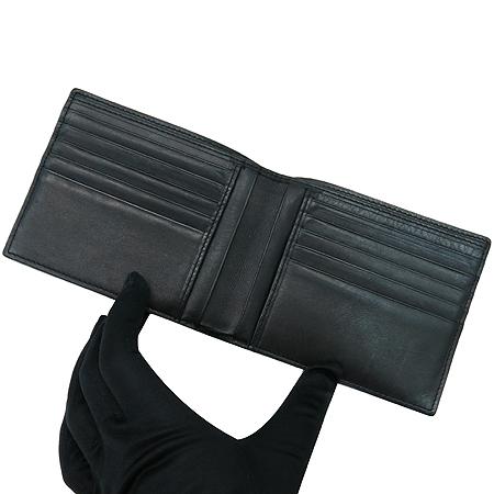 Hugo Boss(휴고보스) 이니셜 로고 블랙 레더 반지갑 이미지2 - 고이비토 중고명품