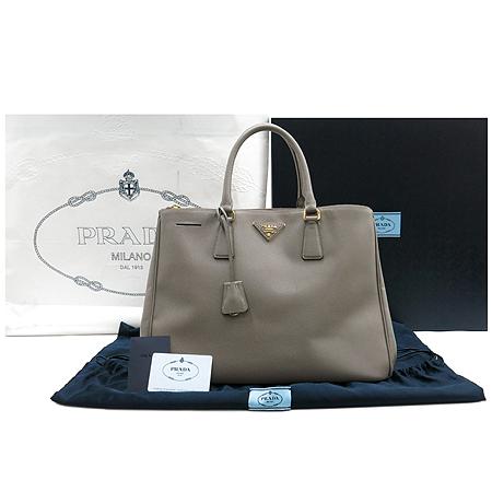 Prada(프라다) BN1786 ARGILLA(아르질라) 사피아노 레더 럭스 토트백 [명동매장]