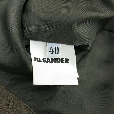 Jilsander(질샌더) 카키컬러 리넨 자켓