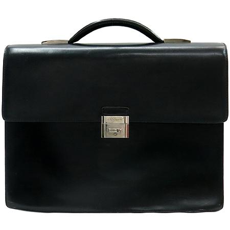 Dupont(듀퐁) 은장 로고 블랙 컬러 서류 가방