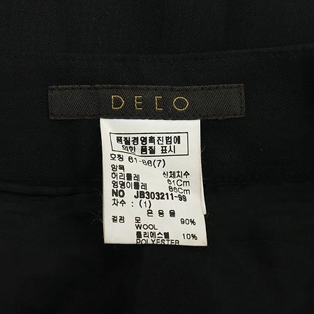 DECO(데코) 블랙컬러 주름 스커트 이미지4 - 고이비토 중고명품