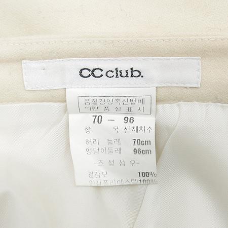 CC club(씨씨클럽) 아이보리컬러 스커트
