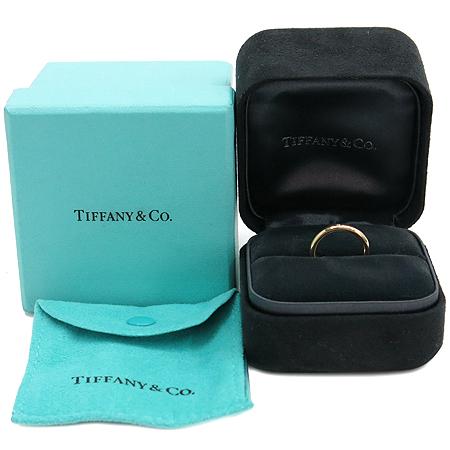 Tiffany(티파니) 18K(750) 옐로우 골드 PERETI 1포인트 다이아 반지 - 7호 [압구정매장]