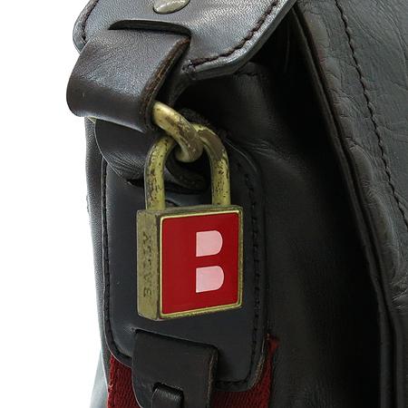 Bally(발리) TROVE 브라운 레더 삼선 스티치 크로스백 이미지5 - 고이비토 중고명품