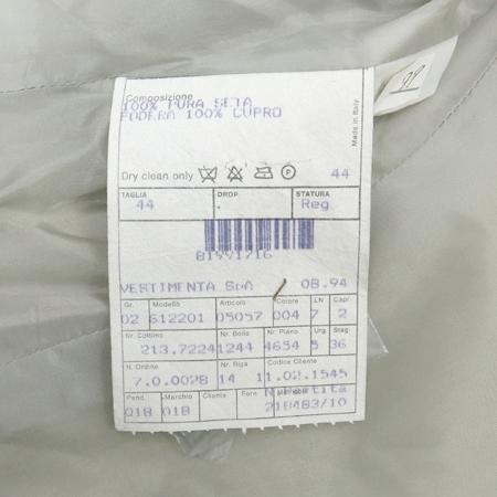 GIORGIO ARMANI(조르지오 아르마니) 베이지컬러 실크 자켓 [부산센텀본점] 이미지5 - 고이비토 중고명품