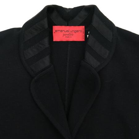 EMANUEL UNGARO(엠마누엘 웅가로) 블랙컬러 3버튼 자켓 [부산센텀본점] 이미지2 - 고이비토 중고명품