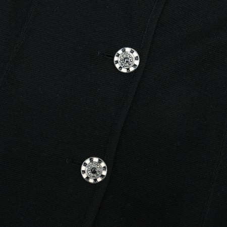EMANUEL UNGARO(엠마누엘 웅가로) 블랙컬러 3버튼 자켓 [부산센텀본점] 이미지4 - 고이비토 중고명품