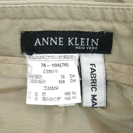 ANNE KLEIN(앤클라인) 베이지컬러 바지