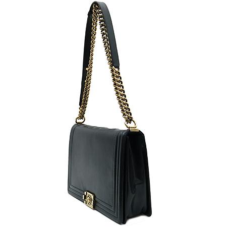 Chanel(샤넬) AA66711Y07357 블랙 램스킨 보이 금장 체인 숄더백