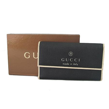 Gucci(구찌) 170404 로고 프린팅 PVC 장지갑