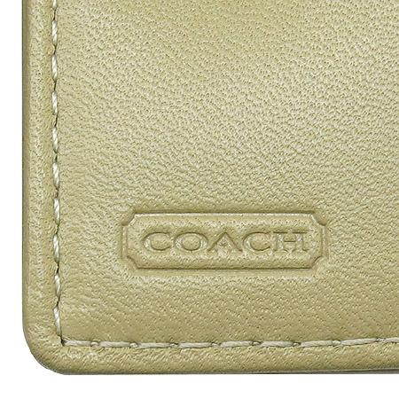 Coach(코치) F42815 시그니처 에나멜 혼방 반지갑