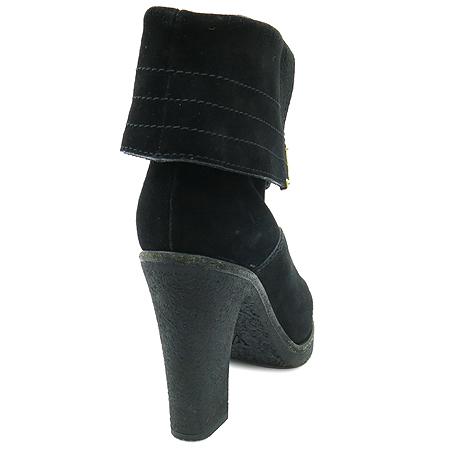 Louis Vuitton(루이비통) 블랙 스웨이드 앵글 부츠