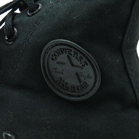 CONVERSE(컨버스) 블랙 캔버스 하이탑 스니커즈