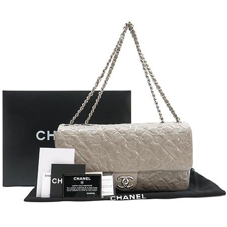 Chanel(샤넬) 10A A49756Y06830 5000 페이던트 실버 SYMBOL CHARM ICON (심볼 참 아이콘) 은장로고 체인 숄더백 [2010년 시즌 크루즈컬렉션]