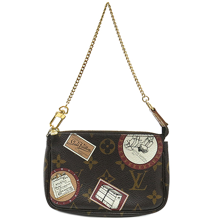 Louis Vuitton(루이비통) M95804 모노그램 캔버스 미니 포쉐트 액세사리 패치 파우치백[부천 현대점]