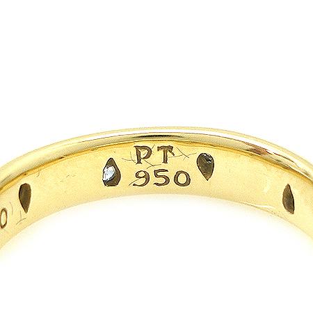 Tiffany(Ƽ�Ĵ�) Tiffany(Ƽ�Ĵ�) 18K ���+PT950(�÷�Ƽ��) 10����Ʈ ���̾� ETOILE ����-12ȣ [�д����]