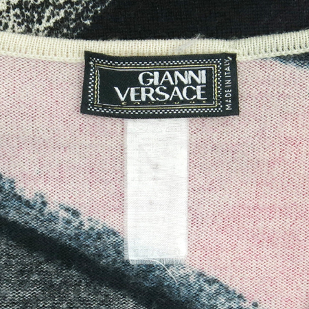 Versace(베르사체) 멀티컬러 V넥 니트
