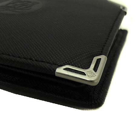 Louis_Quatorze(루이까또즈) LM1AH148M1201 블랙 사피아노 장지갑