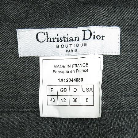Dior(크리스챤디올) 그레이컬러 2버튼 바지 이미지5 - 고이비토 중고명품