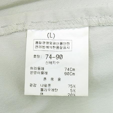 J.S SPORTS 연베이지컬러 바지