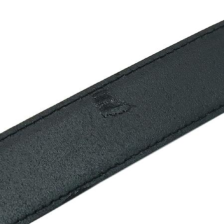 Ferragamo(페라가모) 블랙 레더 금장 로고 여성용 벨트