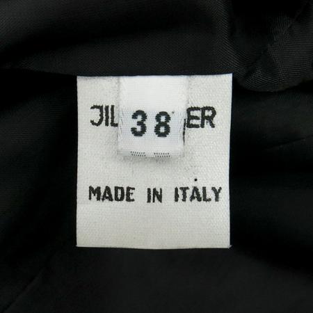 Jilsander(질샌더) 블랙컬러 실크혼방 자켓