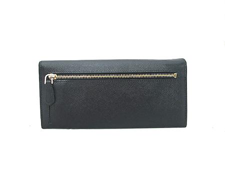 Prada(프라다) 1M1132 블랙 사피아노 삼각 로고 장지갑 이미지3 - 고이비토 중고명품