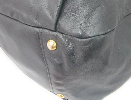 Prada(프라다) BR4302 블랙 레더 금장 로고 2WAY [강남본점] 이미지5 - 고이비토 중고명품