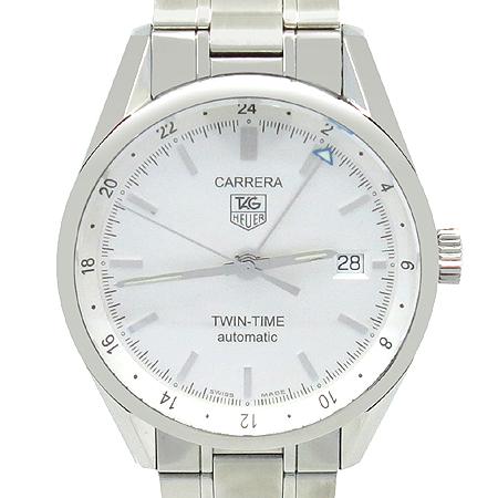 Tag Heuer(태그호이어) WV2116 CARRERA GMT(카레라 GMT) TWINTIME(트윈타임) 오토매틱 데이트 스틸 남성용시계