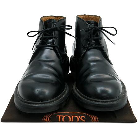 Tod's(토즈) 블랙 레더 데져트 슈즈