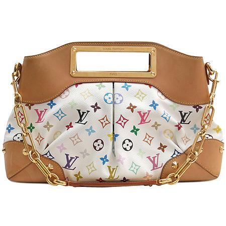 Louis Vuitton(루이비통) M40255 모노그램 멀티 컬러 화이트 주디 MM 2WAY 이미지2 - 고이비토 중고명품