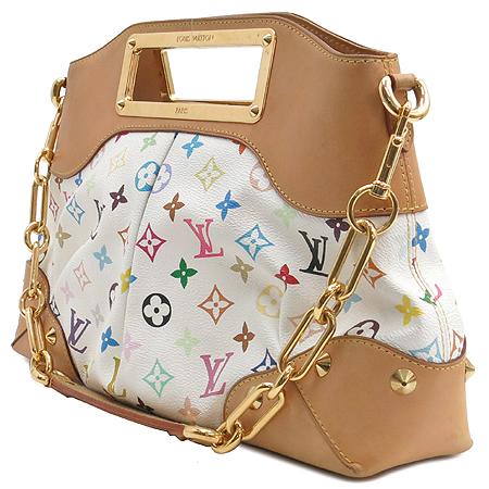 Louis Vuitton(루이비통) M40255 모노그램 멀티 컬러 화이트 주디 MM 2WAY 이미지3 - 고이비토 중고명품