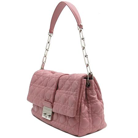 Dior(크리스챤디올) 핑크 컬러 까나쥬 체인 숄더백 이미지2 - 고이비토 중고명품