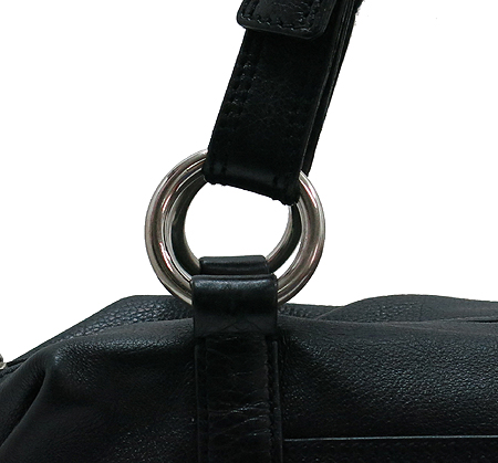 Prada(프라다) BR2630 삼각 로고 장식 블랙 레더 토트백 이미지4 - 고이비토 중고명품