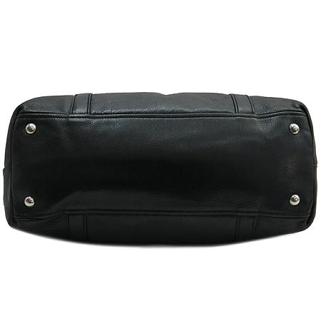 Prada(프라다) BR2630 삼각 로고 장식 블랙 레더 토트백 이미지5 - 고이비토 중고명품
