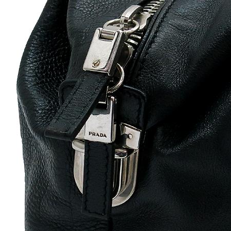 Prada(프라다) BR2630 삼각 로고 장식 블랙 레더 토트백 이미지6 - 고이비토 중고명품