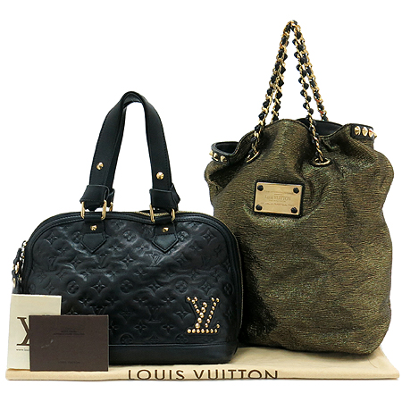 Louis Vuitton(���̺���) M40286 MONOGRAM DOUBLE JEU NEOALMA (���� �� �׿� �˸�) ��Ʈ�� + ü�� �׿� ¤