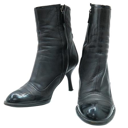 Chanel(샤넬) 블랙 램스킨 레더 여성 부츠