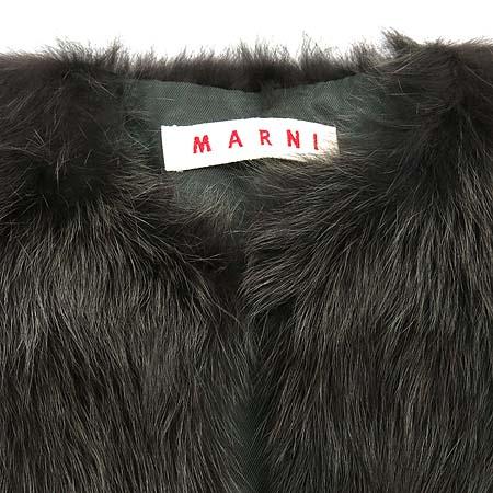 MARNI(마르니) 100% 여우털 숄