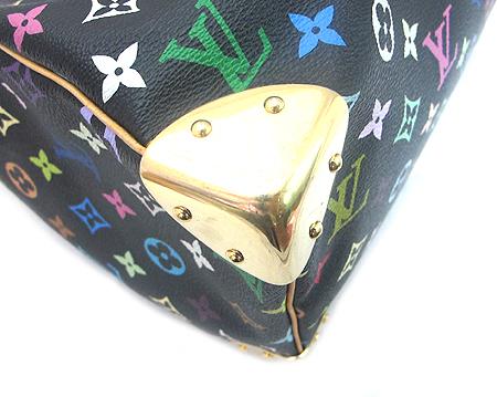 Louis Vuitton(루이비통) M92642 모노그램 멀티 컬러 블랙 스피디 30 토트백 [분당매장]
