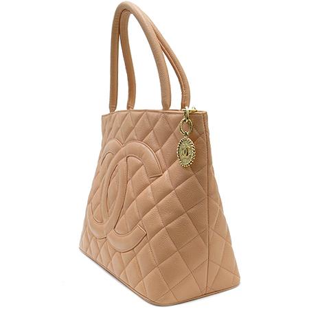 Chanel(샤넬) A01804  캐비어스킨 금장 코인백 토트백