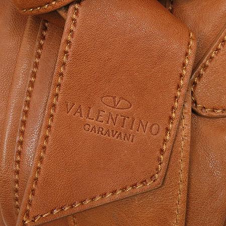 VALENTINO(발렌티노) 스트라이프 브라운 레더 숄더백 이미지5 - 고이비토 중고명품