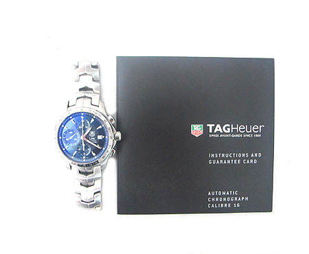 Tag Heuer(태그호이어) CJF2114  LINK(링크) 크로노 그래프 오토매틱 스틸 남성용 시계 [분당매장]