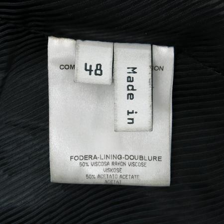 Balenciaga(발렌시아가) 블랙 램스킨 은장 지퍼 남성 라이더 자켓 이미지6 - 고이비토 중고명품