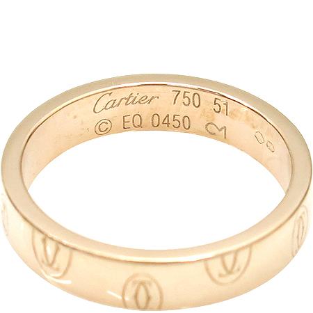 Cartier(까르띠에) 18K(750) 골드 해피버스데이 반지- 11호