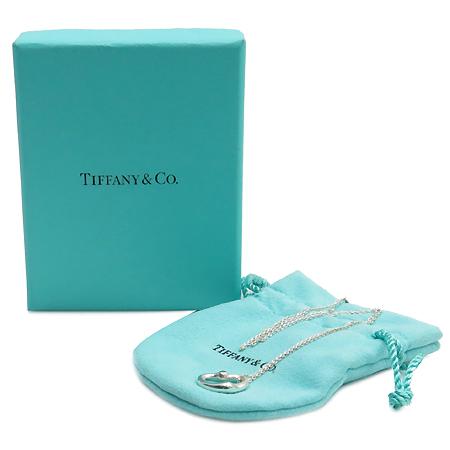 Tiffany(티파니)  925(실버) 엘사 페레티 오픈하트 1포인트 아쿠아마린 목걸이