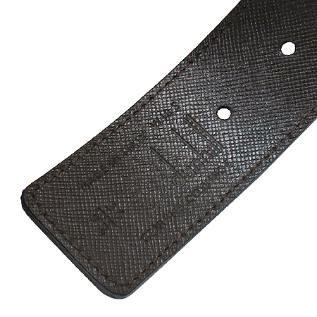 Dunhill(던힐) BPX255A 사피아노 블랙 브라운 남성용 양면벨트[부천 현대점]