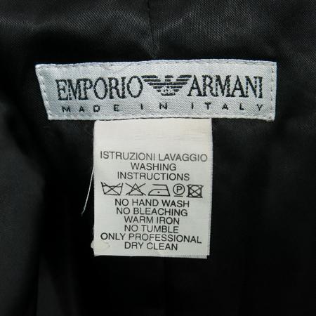 Emporio Armani(엠포리오 아르마니) 블랙컬러 자켓 이미지6 - 고이비토 중고명품