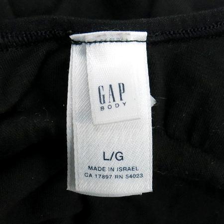 GAP(갭) 블랙컬러 끈 나시